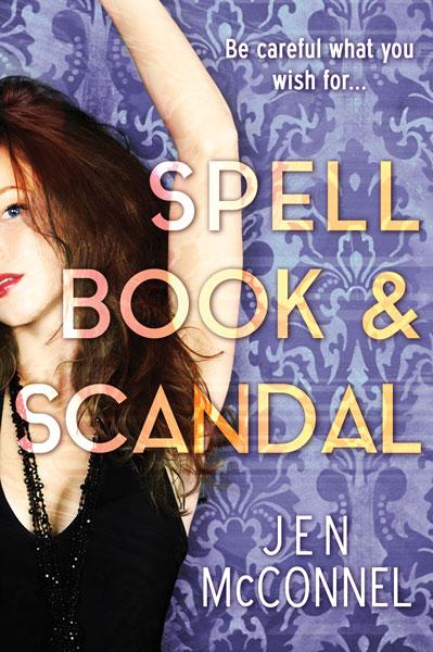 Spell Book & Scandal – Jen McConnel
